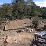 terrassement terrain de boule pétanque