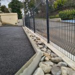 installation de clôture aménagement paysager gonsalves paysages