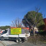 Camion benne Gonsalves Paysages