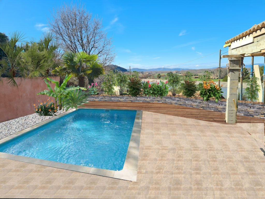 création jardin aménagement logiciel 3D piscine